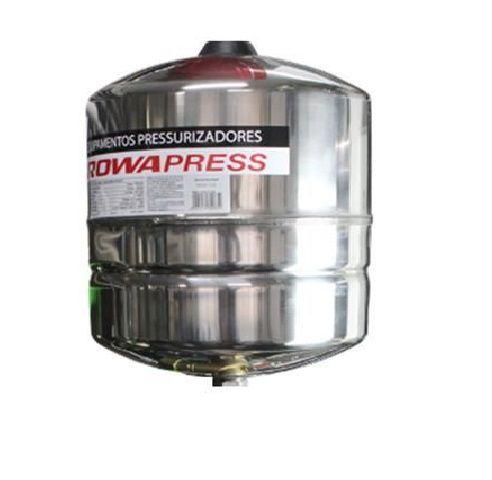 Tanque de Expansão Aço Inox 18 Litros Rowa