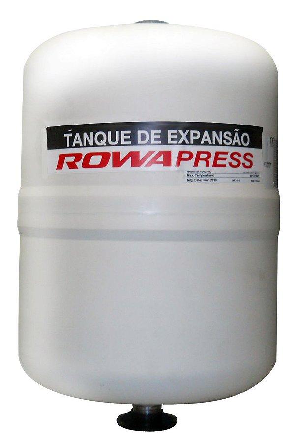Tanque de Expansão Aço Carbono Vertical 24 Litros Rowa