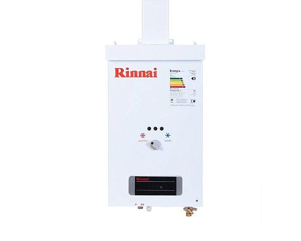 Aquecedor a Gás REU-73 BR GLP 7,5L Rinnai