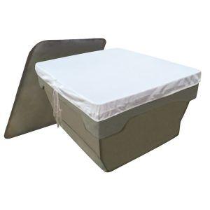 Tela de Proteção Poliéster para Caixa D'água 500L Quadrada KLC