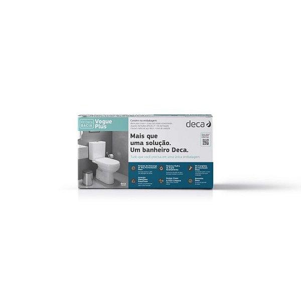 Kit Bacia com Caixa Acoplada e Acessórios para Instalação Vogue Plus Branco KP.505.17 Deca