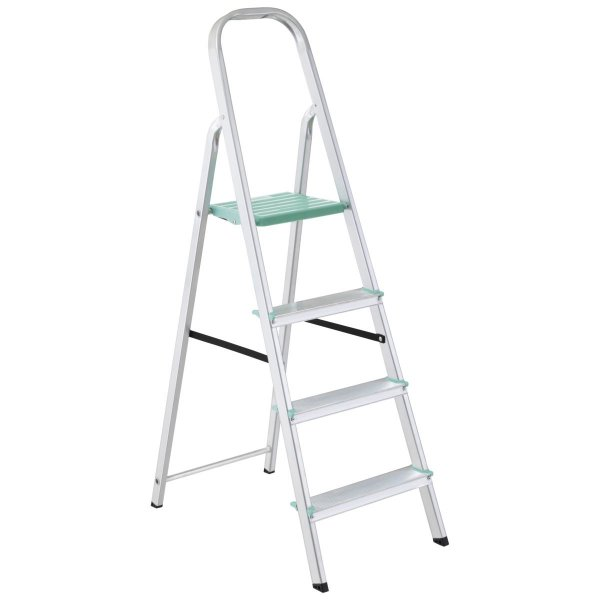 Escada de Alumínio Classic 4 Degraus Ref. 91850/104 Tramontina