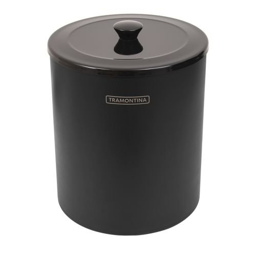Lixeira Útil Black Mix com Balde de Plástico 5L Ref. 94540/055 Tramontina