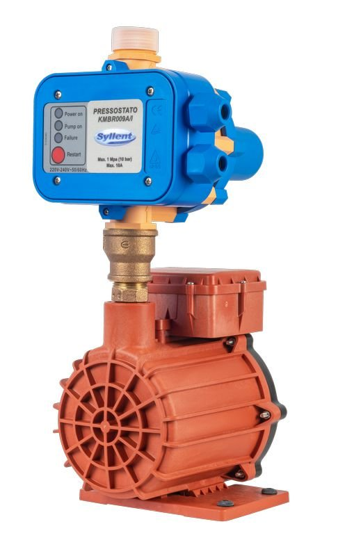 Pressurizador com Pressostato Eletrônico MB63E0067AMP/PREL 350W Monofásica 220V - Água Quente Syllent