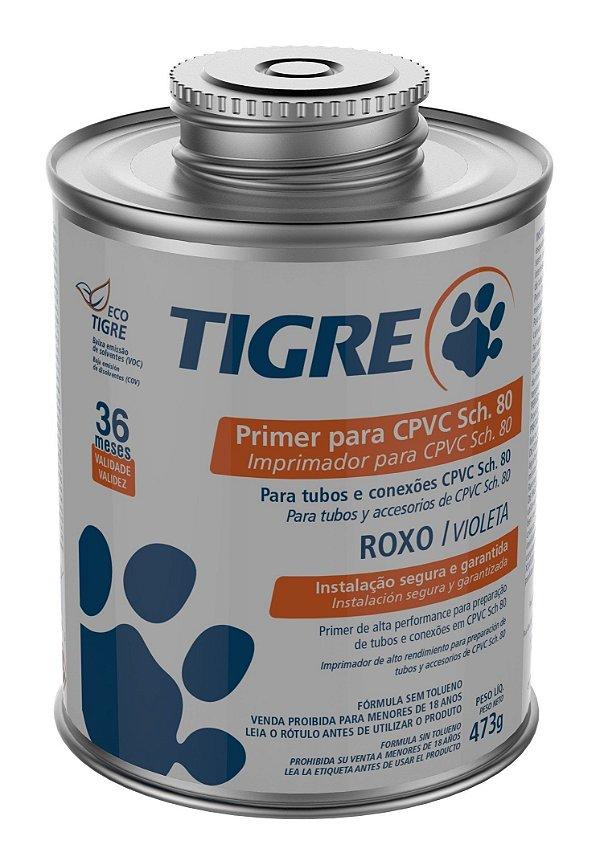 Primer para CPVC e PVC-U Industrial SCH-80 473ml Tigre