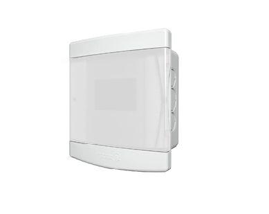 Quadro de Distribuição Embutir 3/4 Disjuntores Porta Transparente sem Barramento Tigre