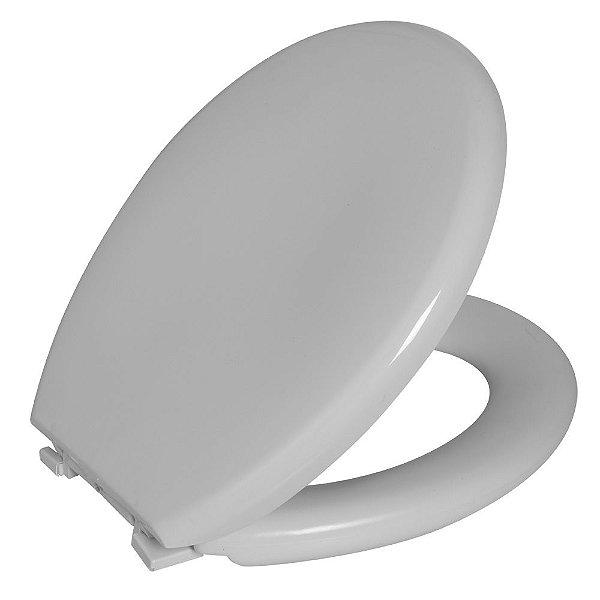 Assento Sanitário De Ville PP Almofadado TDV/K Branco  Astra