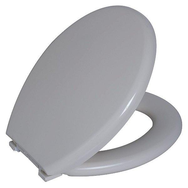 Assento Sanitário Convencional PP Almofadado TPK/AS Bege 8 Astra