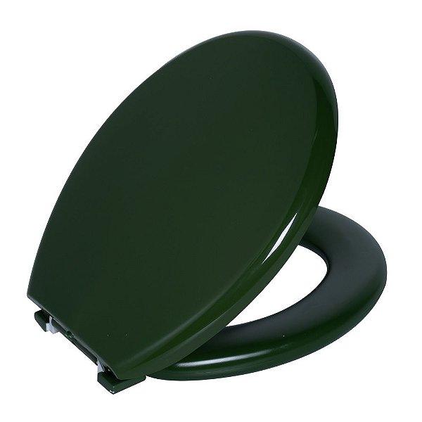 Assento Sanitário Convencional PP Almofadado TPK/AS Verde 5 Astra