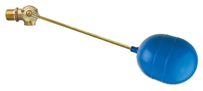 """Torneira de Bóia 1"""" Vazão Total Balão Plástico Garden"""