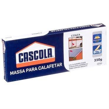 Massa para Calafetar Adezite 350g Cinza Henkel