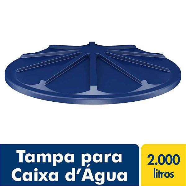 Tampa para Caixa D'água Polietileno 2.000L Fortlev