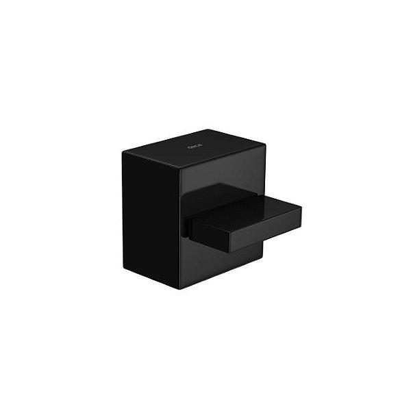 """Acabamento para Registro de Gaveta de 1.1/4"""" e 1.1/2"""" Dream 4900.BL87.GD.NO Black Noir Deca"""