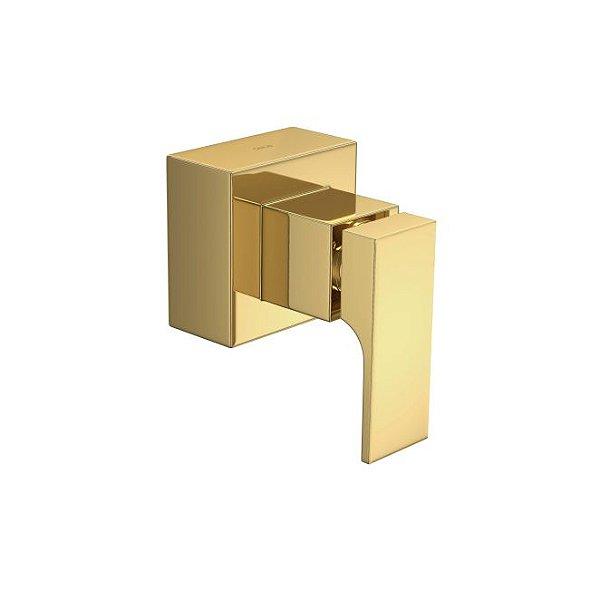 """Acabamento para Registro de Gaveta de 1.1/4"""" e 1.1/2"""" Unic 4900.GL90.GD Gold Deca"""