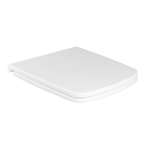 Assento Plástico com Slow Close Clean AP.465.17 Branco Deca