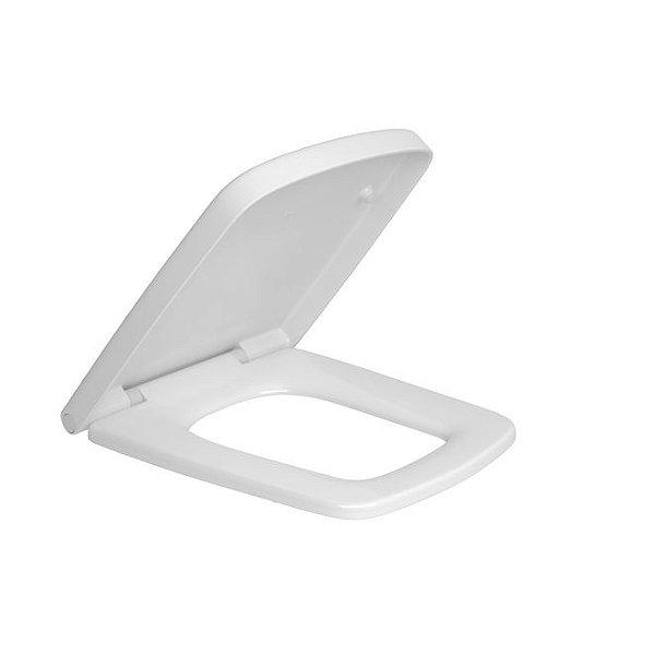 Assento Termofixo Slow Close e Easy Clean AP.466.17 Branco Deca