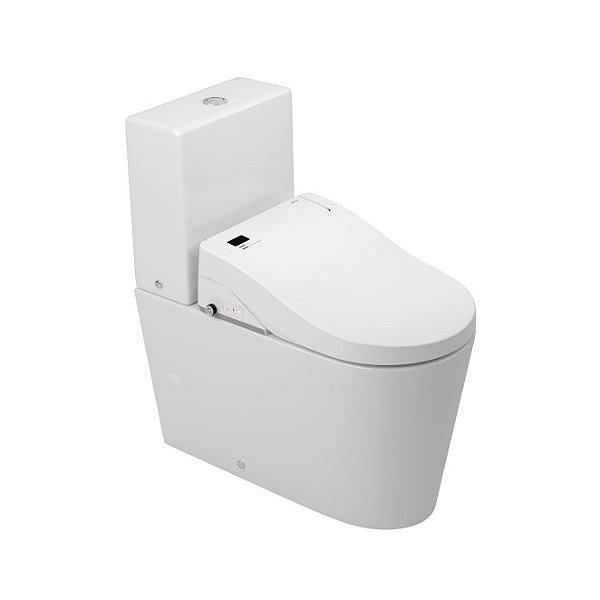 Bacia para Caixa Acoplada com Assento Eletrônico 220V Lk Tecno PAP.3502.17 Branco Deca