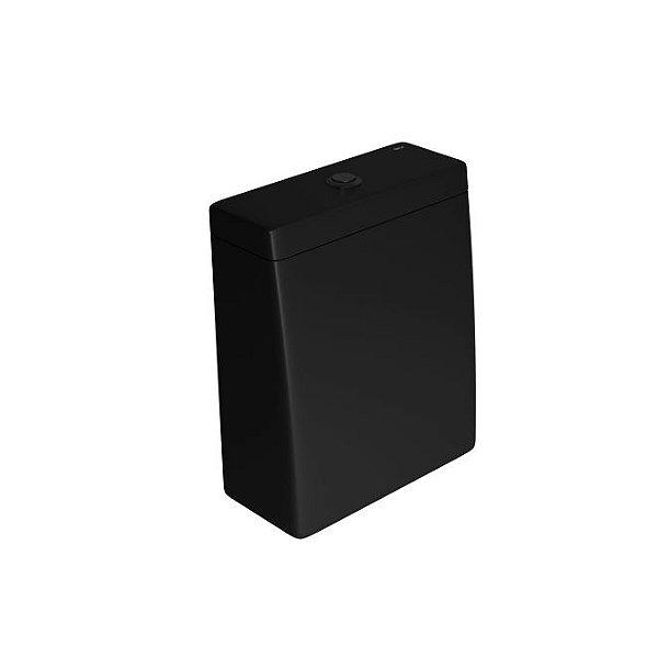 Caixa Acoplada com Acionamento Duo Lk CD.23F.BL.MT.94 Ébano Fosco/Black Matte Deca
