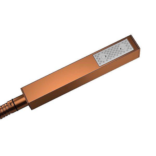 Ducha Manual para Chuveiro Quadrada 4806.GL.QUA.RD Red Gold Deca