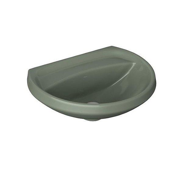 Lavatório para Banheiro Ravena/Izy 45x36cm L-915 Verde VD60 Deca