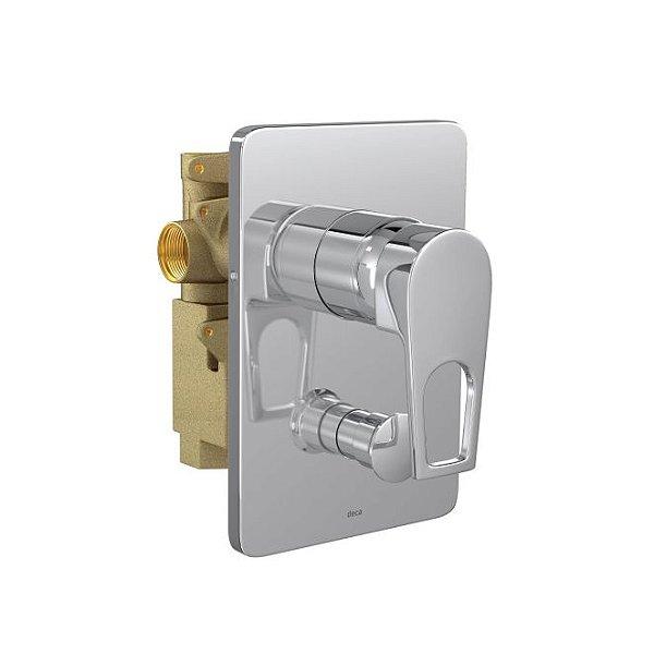 Misturador Monocomando 4 Vias de Chuveiro com Desviador para Banheira Level Mix 2994.C28 Deca