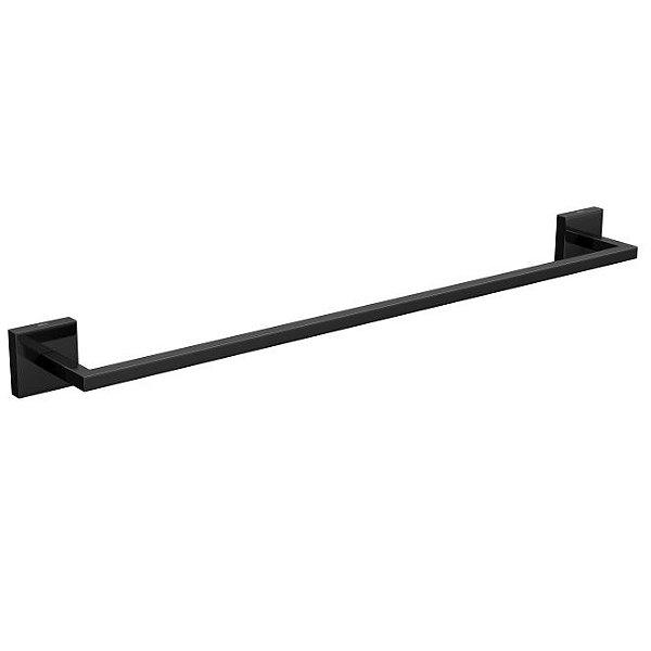 Porta Toalha Barra 50cm Clean 2040.BL.050.CLN.NO Black Noir Deca