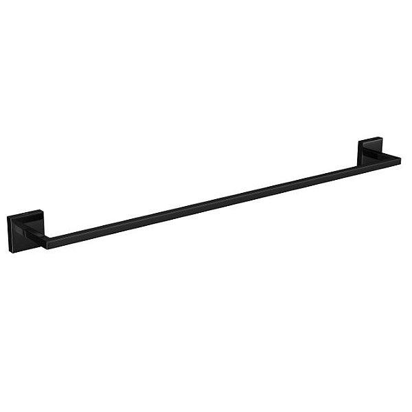 Porta Toalha Barra 60cm Clean 2040.BL.060.CLN.NO Black Noir Deca