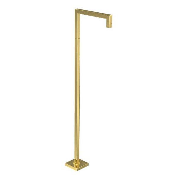 Torneira Reta de Piso Tube 1191.GL.TUB.PSO Gold Deca
