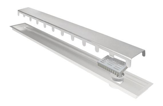 Ralo Linear Elleve Multimaster Line Tampa Inox 120cm 279 Ralo Linear
