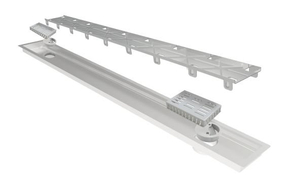 Ralo Linear Elleve Multimaster Line Tampa Oculta 90cm 237 Ralo Linear