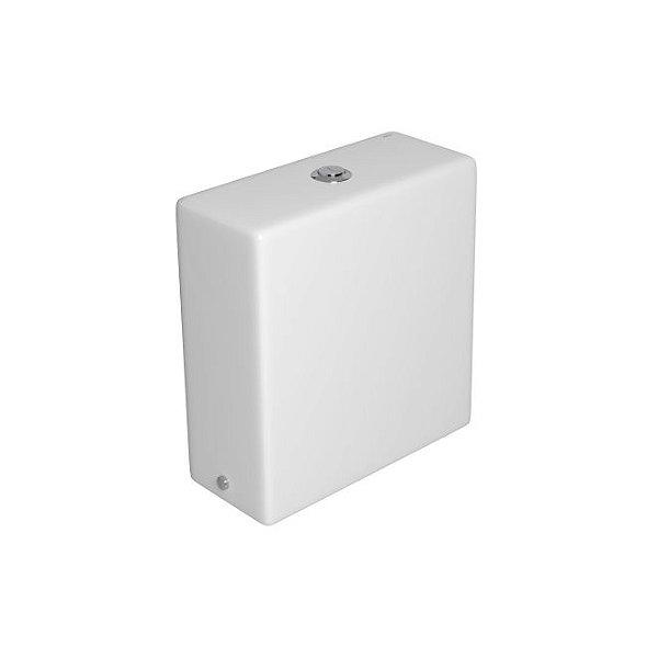 Caixa Acoplada com Acionamento Duo Quadratta CD.44F.17 Branco Deca