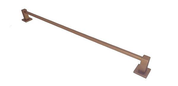 Toalheiro Simples 45cm Ferrara Cobre Fosco Tirreno