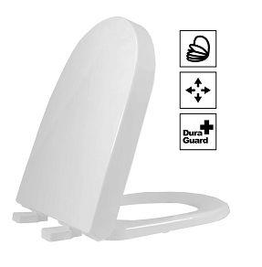 Assento Duna/Carrara/Lk Termofixo Soft Close Cinza Tupan