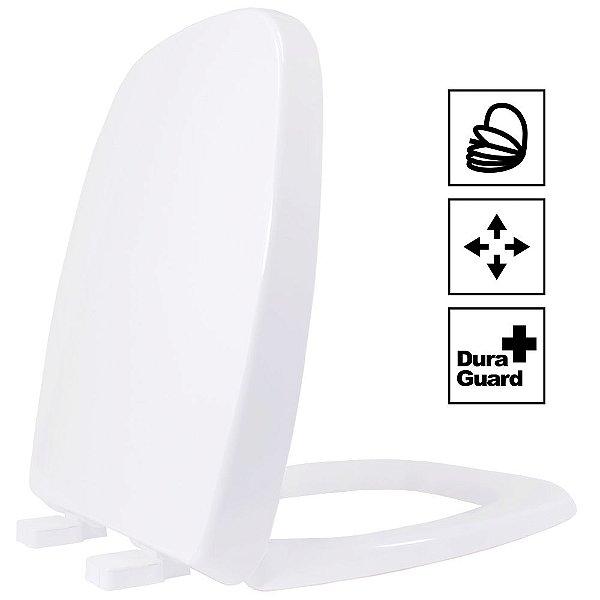 Assento Fit/Versato Termofixo Soft Close Branco Tupan