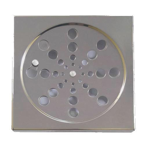 Grelha Quadrada Inox sem Caixilho Rotativa 150mm Clarinox