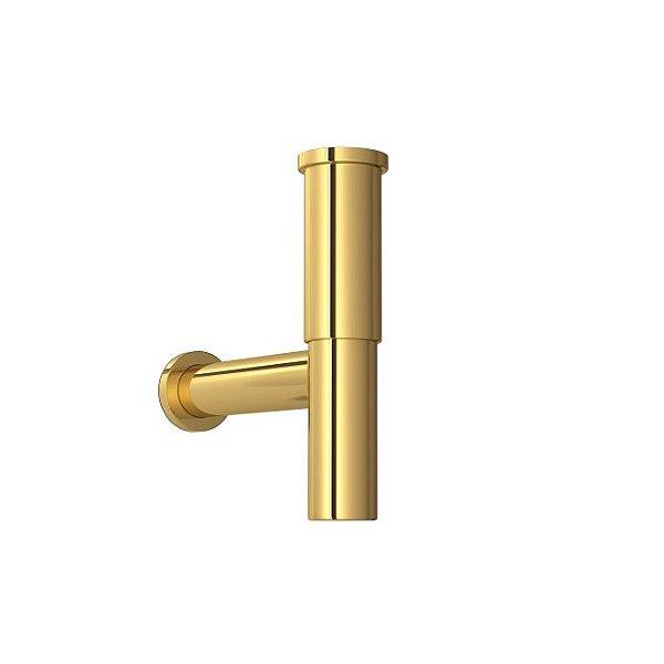 Sifão para Lavatório 1684.GL.100.112 Gold Deca