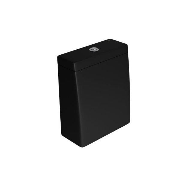 Caixa Acoplada com Acionamento Duo Lk CD.23F.94 Ébano Fosco/Cromado Deca