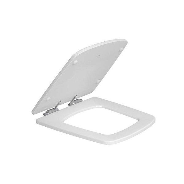 Assento Poliéster Clean AP.467.17 Branco/Cromado Deca