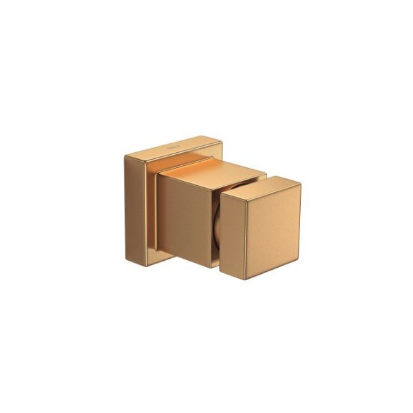 "Acabamento para Registro Gaveta 1/2"" a 1"" Cubo 4900.GL86.PQ.MT Gold Matte Deca"