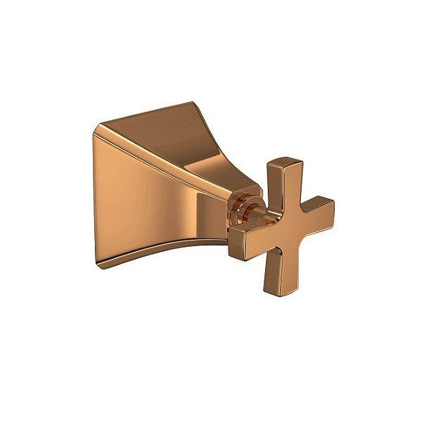 """Acabamento para Registro de Gaveta de 1.1/4"""" e 1.1/2"""" Wish 4900.GL.WSH.GD.RD Red Gold Deca"""