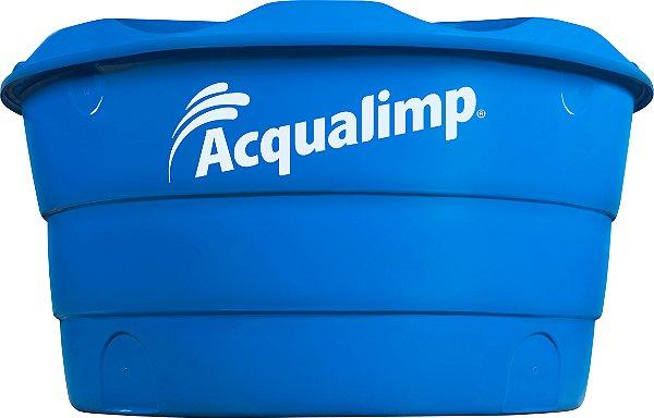 Caixa D'água Básica 1.000L Azul Acqualimp
