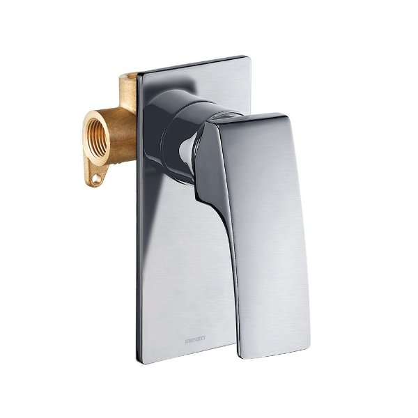 Misturador Monocomando para Chuveiro Brushed Nickel 2993 N89 Lorenzetti