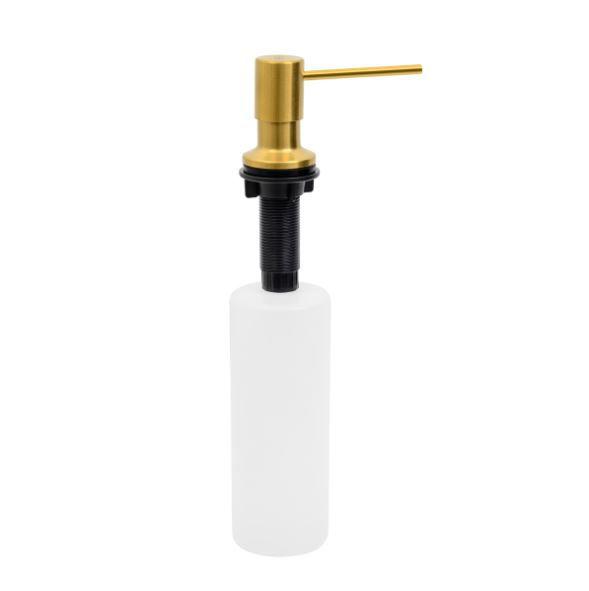 Dosador de Sabão em Aço Inox Gold com Recipiente Plástico 500ml 94517/304 Tramontina