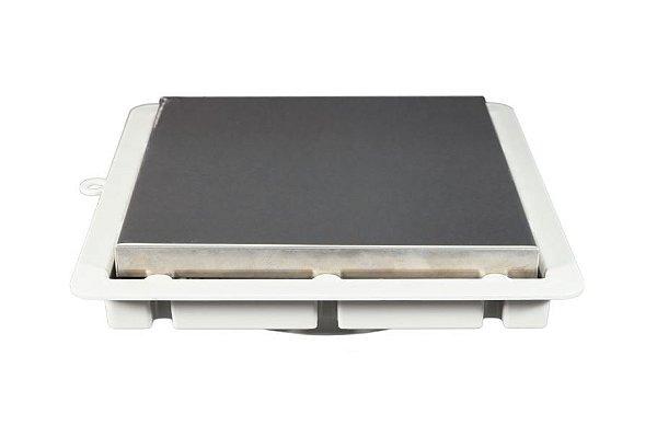 Ralo Invisível Premium Inox Luxo 15x15cm Ref. 1622 Estrela