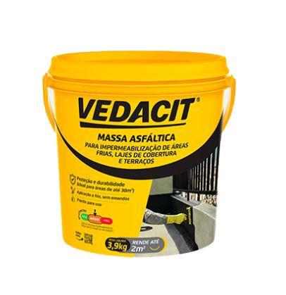 Massa Asfáltica Gl 3,9 Kg (Frioasfalto) Vedacit