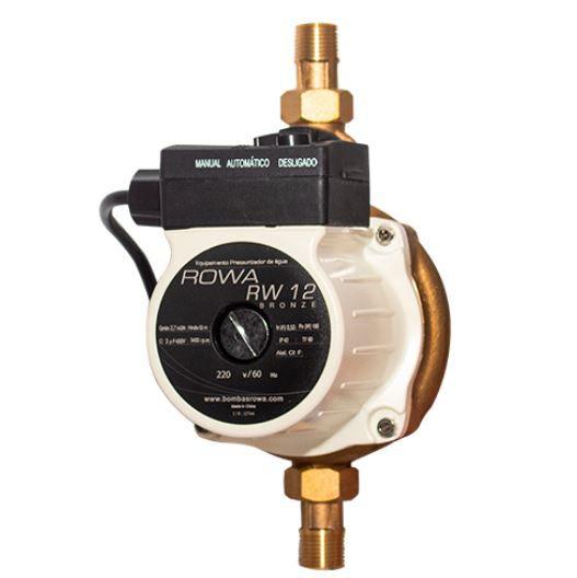 Pressurizador Mini Bomba RW12 Bronze 150w 220v Rowa
