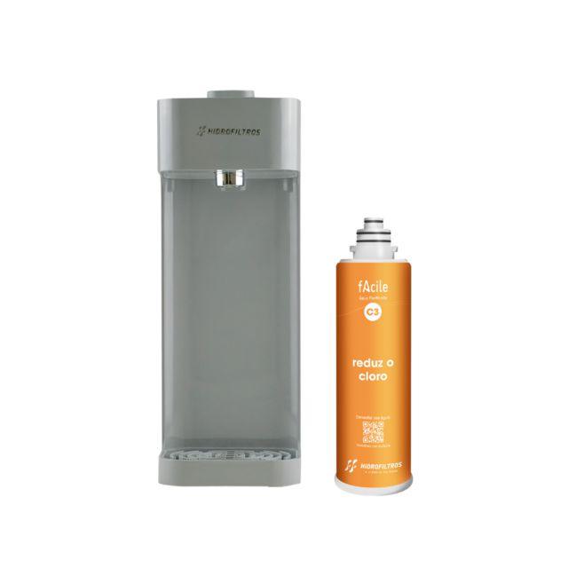 Purificador Facile C3 Cinza 916-2501 Hidrofiltros