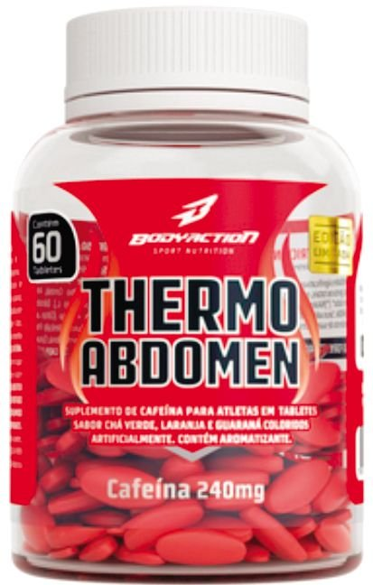 THERMO ABDOMEN - BODY ACTION - 60 TABLETS