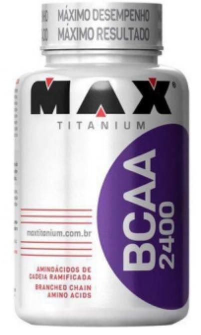 BCAA 2400 - 60 CÁPSULAS - MAX TITANIUM