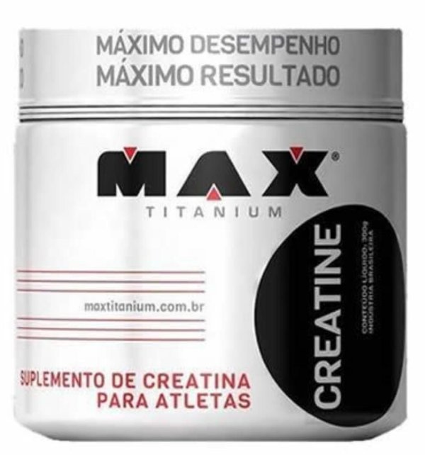 CREATINE - MAX TITANIUM - 100g